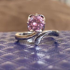Light Rose Sterling Silver Ring